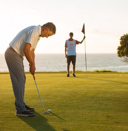 Dana Point, CA: Reserve a Waterman Forecaddie to elevate your experience during your next round.