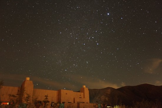 Borrego Valley Inn: Night stars outside our patio