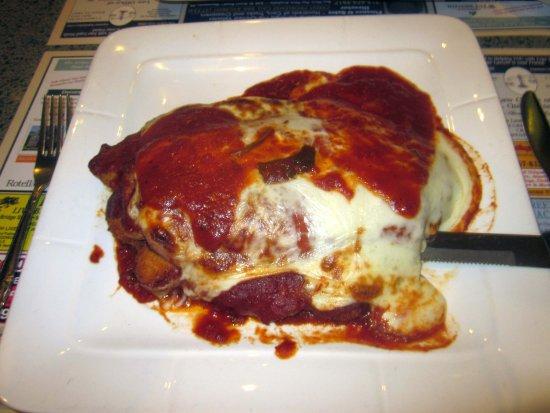 Bristol, PA: Chicken Romano (w/ eggplant, ham & mozzarella)