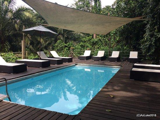 Kinabatangan District, Malaysia: Sukau Pool.