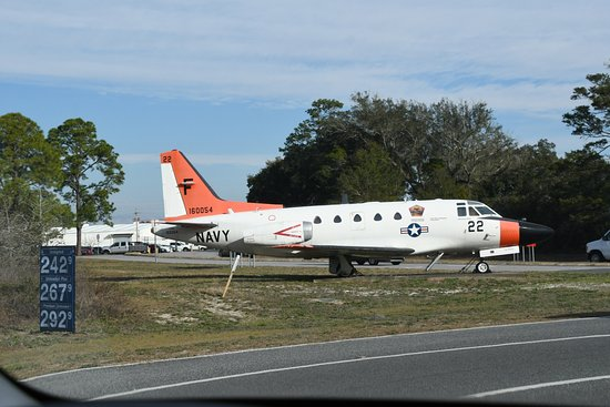 Pensacola Naval Air Station: Naval Flight officers recognize this trainer