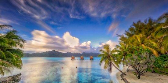 Vahine Island, Polynésie française : Exterior