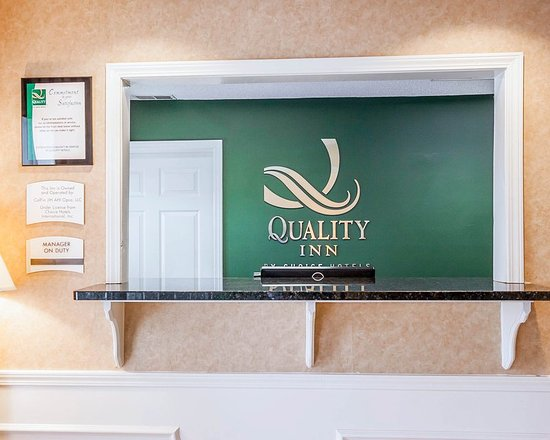 Quality Inn Decatur: Lobby