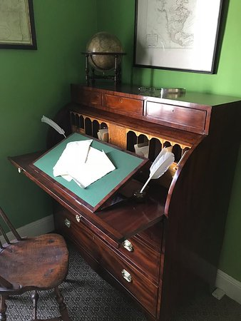 Hamilton Grange National Memorial: Writing Desk At Hamilton Grange