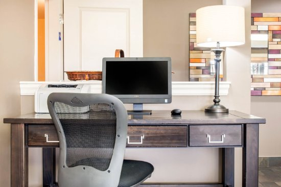 Quality Inn & Suites Amsterdam: Business center