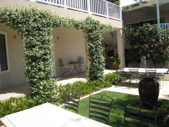 Brezza Bella Bed & Breakfast: Courtyard