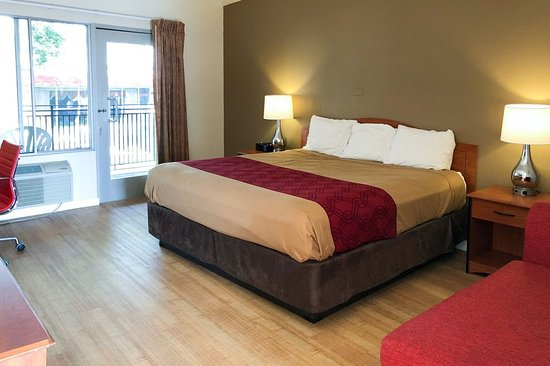 Econo Lodge Inn & Suites Oakland Airport: Guest room