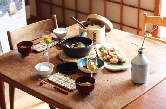 Private Japanese Cooking Class with a...