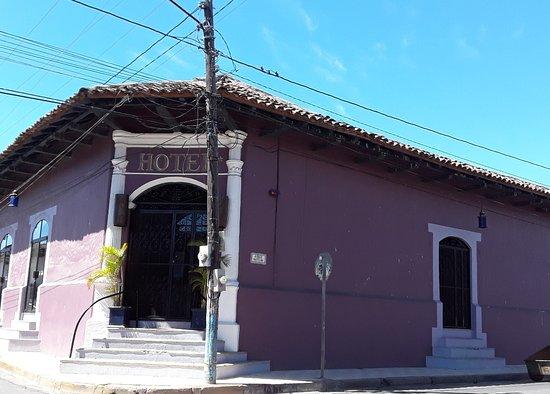 Hotel El Club: Entrance