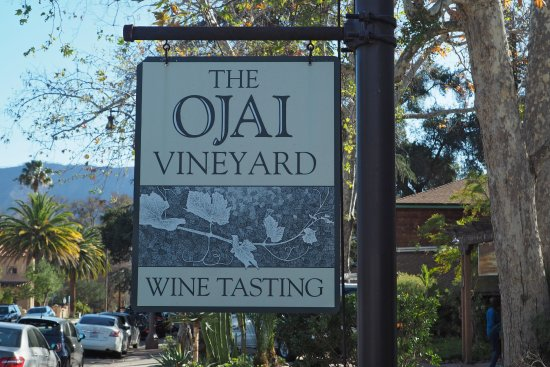 Ojai Vineyard tasting room