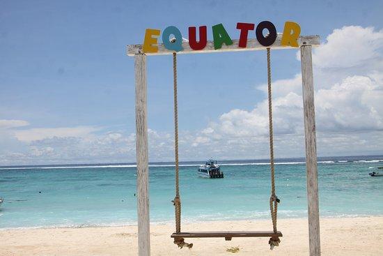 Nusa Lembongan, Indonesia: Swinger at Equator Beach Club