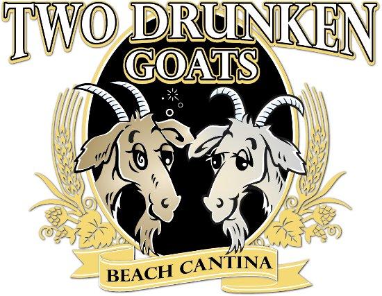 Two Drunken Goats Beach Cantina: Two Drunken Goats Logo