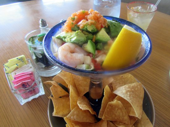 Ceviche, Poseidon Restaurant on the Beach, Del Mar, Ca