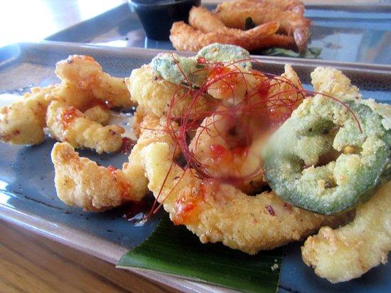 Calamari, Poseidon Restaurant on the Beach, Del Mar, Ca