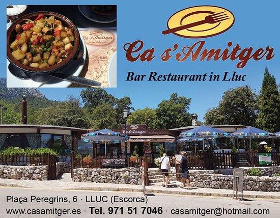 Lluc, Spain: Ca s´amitger
