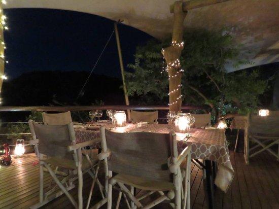 Phinda Private Game Reserve, Sydafrika: dining
