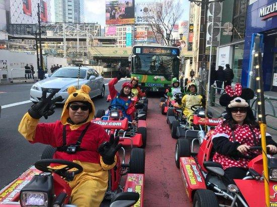MariCAR Shibuya