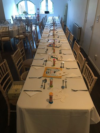 Fabulous venue for our christening!
