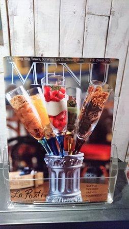 西班牙菜La Postr餐牌