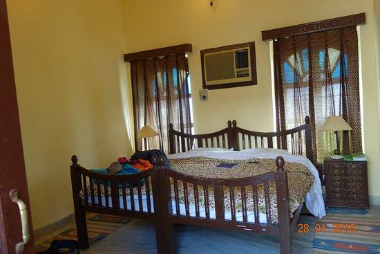 Hotel Heritage Mandawa: Zimmer Ohne Wandbemalung