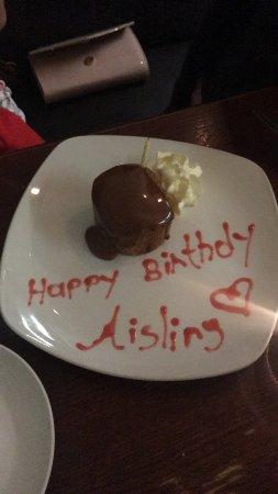 Cafe Bliss: Birthday Dessert