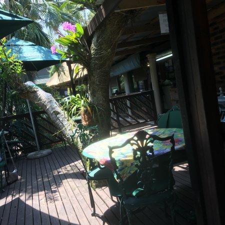 Illovo Beach, Güney Afrika: Terrace Tea Garden
