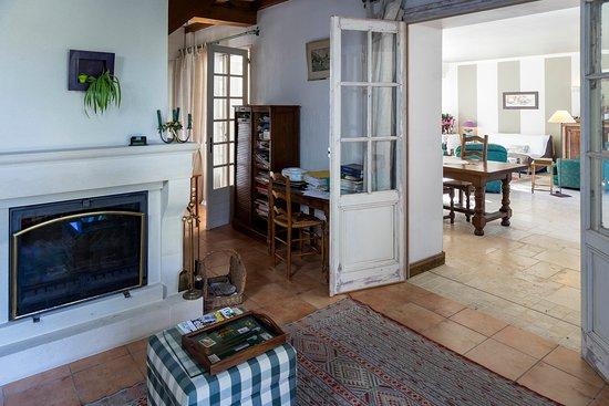 Logis de la brumanderie bewertungen fotos for Petit salon avec cheminee