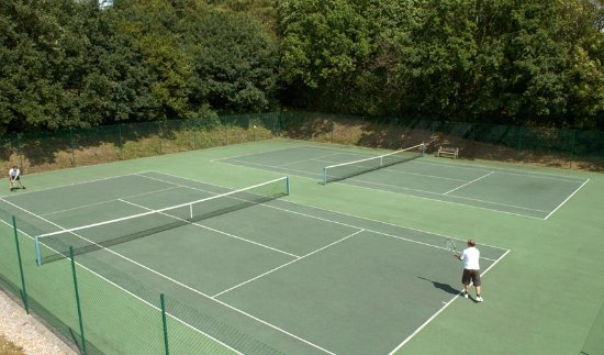 East Sussex, UK: Our outdoor Tennis courts just one of a number of facilities available