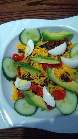 Potchefstroom, Sydafrika: biltong salad was very nice