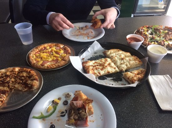 Spanish Fork, UT: All we tried - we couldn`t eat everything :)