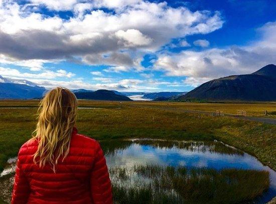 Mosfellsbaer, Islandia: Me, myself and I + nature in Iceland