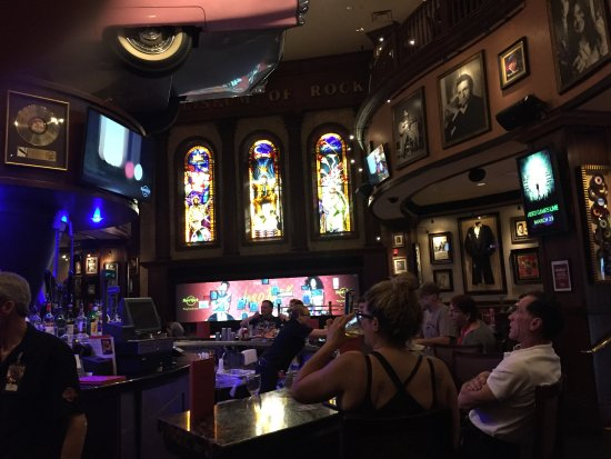 Great decor and atmosphere picture of hard rock cafe