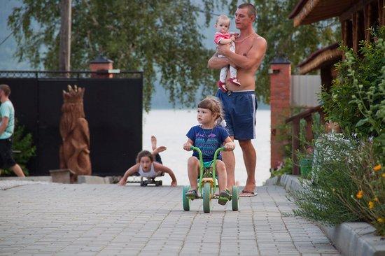 Verkhny Ufaley, Rússia: Все условия для отдыха с детьми