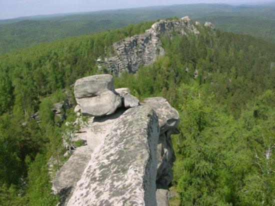 Verkhny Ufaley, Rússia: В пешей доступности легендарные Аракульские Шиханы