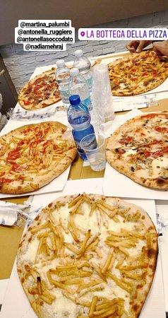 Albinea, Italy: Ottimo.. Finalmente una pizza anche senza lievito.. 😍