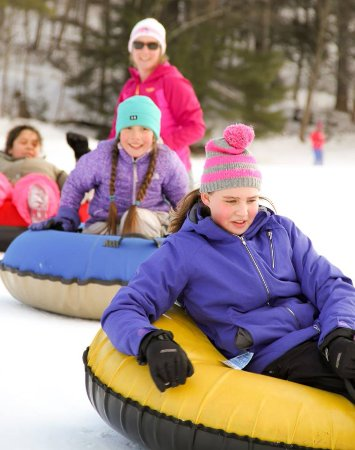 Tubing at the Grafton Trails & Outdoor Center