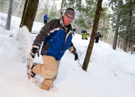 Grafton, VT: Snowshoeing!