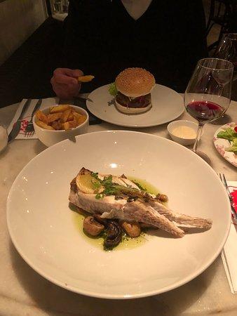 Абкауде, Нидерланды: Main course - Fish