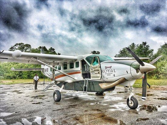 Lower Zambezi National Park, Zambia: Charter flights can be arranged - 30 minutes from Lusaka