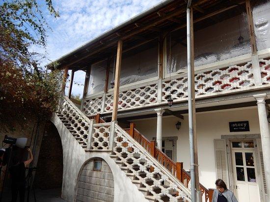 HaTachana: restaurant a l'etage