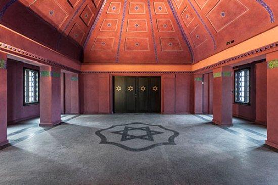 Mendelsohn House: sala główna