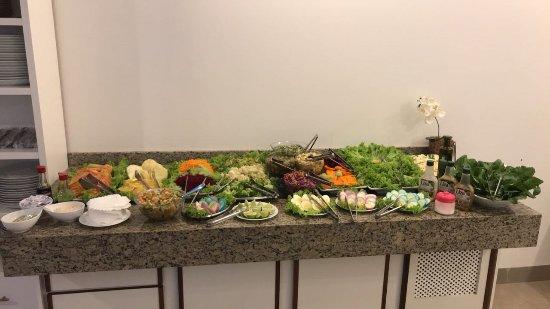 Primavera do Leste, MT: Saladas frescas e deliciosas
