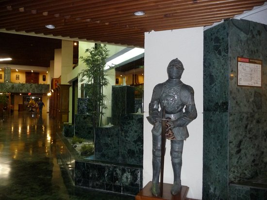 Conquistador Hotel & Conference Center: Armure veritable