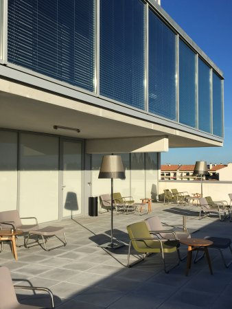 terrasse picture of okko hotels bayonne centre bayonne. Black Bedroom Furniture Sets. Home Design Ideas