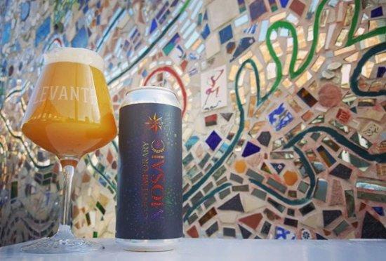 Levante Brewing Company: New England IPA w/ Mosaic Hops
