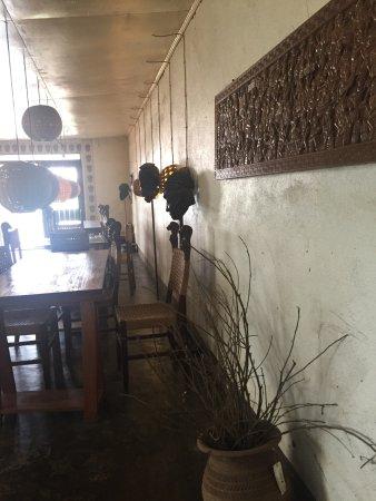 Bamenda, Kameroen: inside