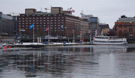 Sheraton Stockholm Hotel: Shore view