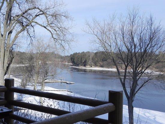 Cedar Lodge & Settlement: Looking upstream