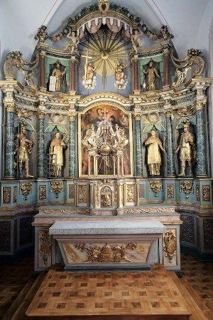 Saint-Gervais-les-Bains, Fransa: Intérieur de l'église Saint-Gervais Saint-Protais
