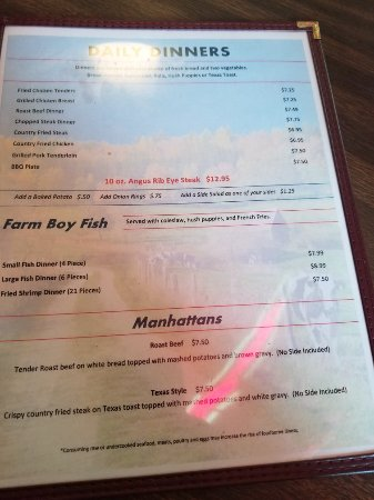 Morgantown, KY : FARM BOY  Restaurant